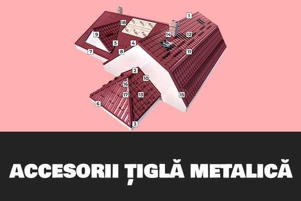 accesorii tigla metalica
